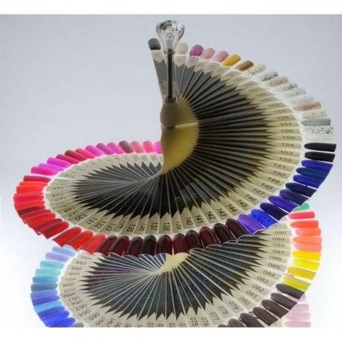 """Палитра для лаков """"Спиральная"""" на 120 цветов"""