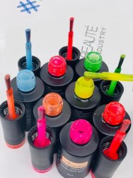«Neon glitter» от Lilly Beaute