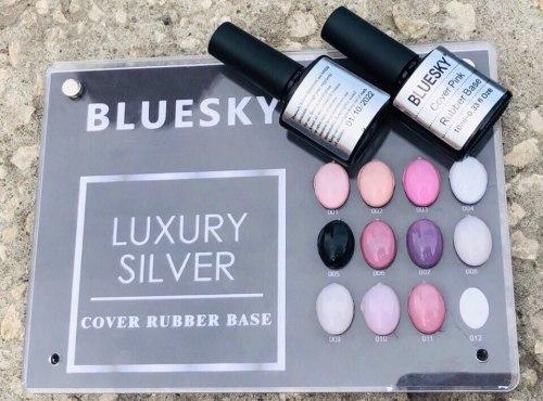 Rubber base Bluesky pink Bluesky