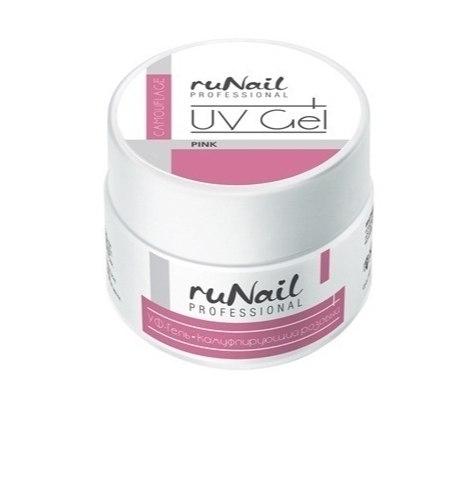 Розовый гель для наращивания и моделирования RuNail
