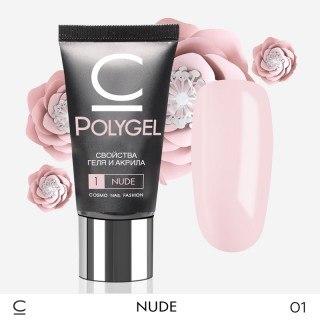 Полигель (PolyGel) Cosmo №1 Nude