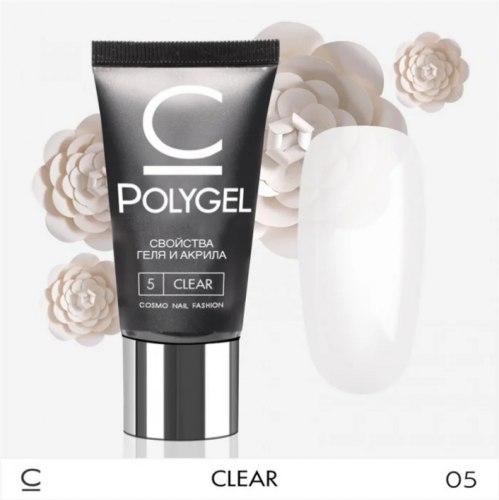 Полигель (PolyGel) Cosmo №5 Прозрачный