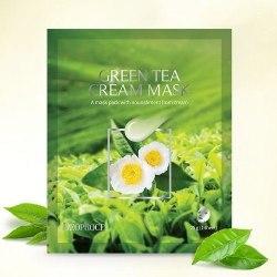 Маска на тканевой основе DEOPROCE GREEN TEA MASK