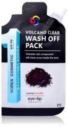 Маска очищающая с вулканическим пеплом EYENLIP VOLCANO CLEAR WASH OFF PACK 20гр
