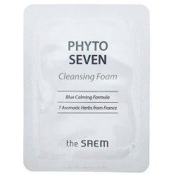 Пенка для умывания пробник THE SAEM Phyto Seven Cleansing Foam_2.5ml