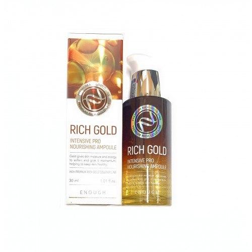 Сыворотка ENOUGH Rich Gold Intensive Pro Nourishing Ampoule 30мл