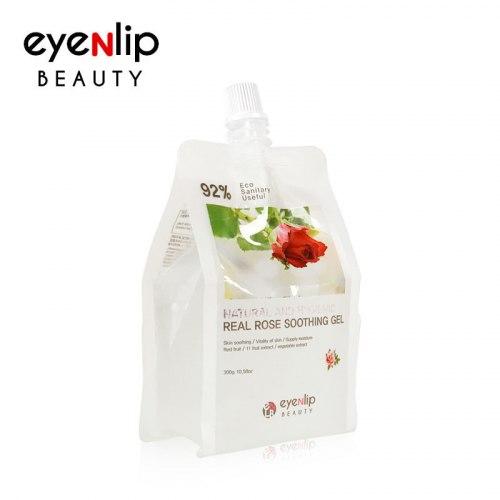 Гель для лица и тела EYENLIP увлажняющий EYENLIP NATURAL AND HYGIENIC REAL ROSE SOOTHING GEL 300гр