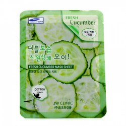 Тканевая маска ЗW CLINIC Fresh Cucumber Mask Sheet