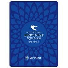 Маска для лица тканевая с экстрактом ласточкиного гнезда MIJIN Skin Planet BIRD NEST AQUA MASK 25гр