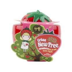 Маска для лица от расширенных пор клубничная BAVIPHAT Urban Dollkiss New Tree Strawberry All-In-One Pore Pack 100гр