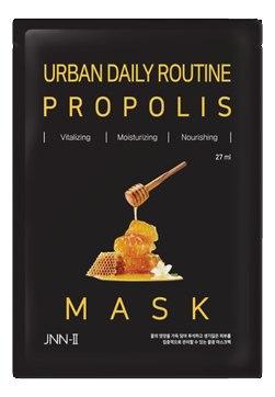 Маска тканевая с прополисом JUNGNANI URBAN DAILY ROUTINE PROPOLIS MASK 27мл
