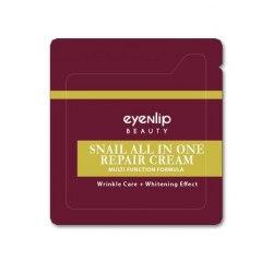 Крем для лица улиточный пробник EYENLIP SNAIL ALL IN ONE REPAIR CREAM 1.5ml