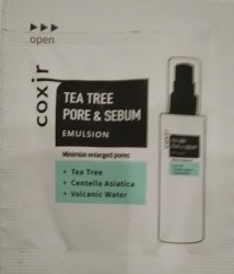 Эмульсия COXIR Tea Tree Pore & Sebum Emulsion sample 2ml