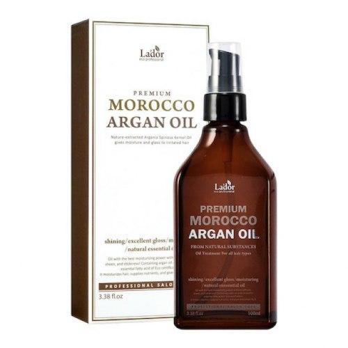 Масло для волос аргановое LA'DOR Premium Morocco Argan Hair Oil 100ml