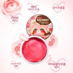 Патчи для глаз и скул гидрогелевые SECRET KEY Pink Racoony Hydro-Gel Eye & Cheek Patch