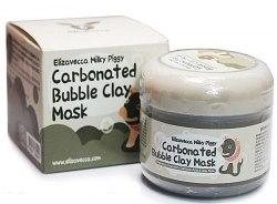 Очищающая глиняно-пузырьковая маска для лица ELIZAVECCA Milky Piggy Carbonated Bubble Clay Mask 100g