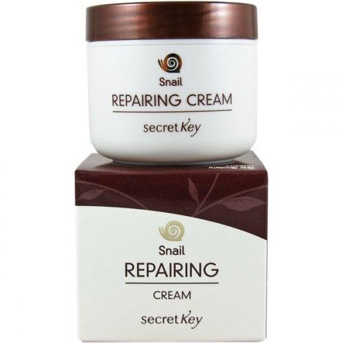 Крем для лица с муцином улитки SECRET KEY Snail Repairing Cream 50гр