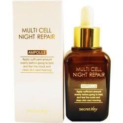Сыворотка для лица ночная SECRET KEY Multi Cell Night Repair Ampoule 50мл