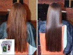 Система для ламинирования волос Clear LOMBOK Original set Clear 2*500гр