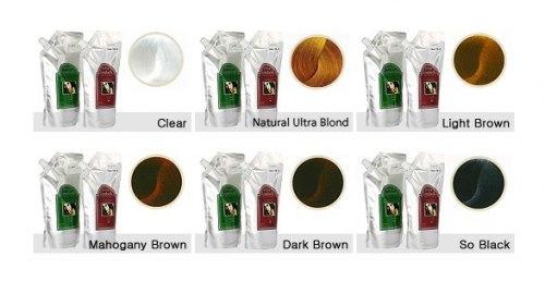 Система для ламинирования волос Clear LOMBOK Original set 2*500гр
