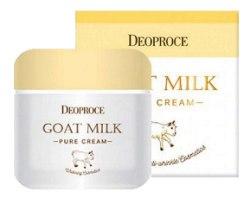 Крем для лица антивозрастной с экстрактом козьего молока DEOPROCE goat milk pure cream 50g