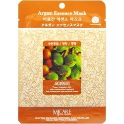 Маска тканевая с экстрактом арганы MIJIN Argana Essence Mask 23гр