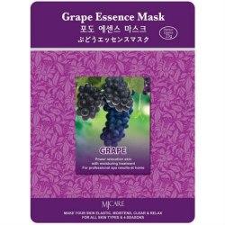 Тканевая маска с экстрактом винограда MIJIN Grape Essence Mask 23гр