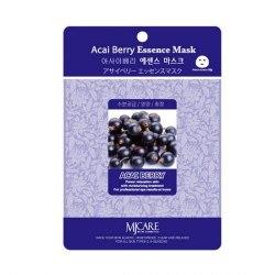 Маска тканевая с экстрактом ягод асаи MIJIN Acai Berry Essence Mask 23гр