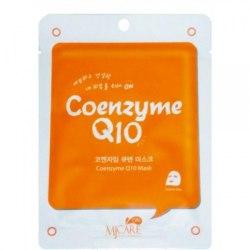 Маска тканевая с коэнзимом MIJIN MJ on Coenzyme Q10 mask pack 22гр