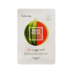 Тканевая маска с экстрактом арбуза WELCOS Kwailnara Watermelon Balancing Facial Mask 20 мл