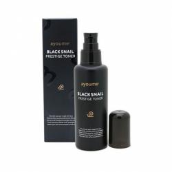 Тонер для лица с муцином черной улитки AYOUME BLACK SNAIL PRESTIGE TONER 150мл