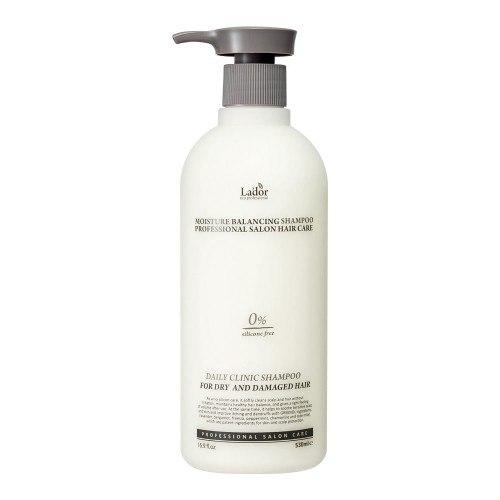 Шампунь для волос увлажняющий LA'DOR Moisture Balancing Shampoo 530ml