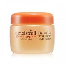 Маска для лица ночная с коллагеном ETUDE HOUSE Moistfull Collagen Sleeping Pack 100мл