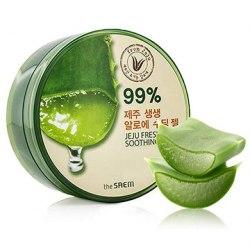 Гель с алоэ универсальный увлажняющий THE SAEM Jeju Fresh Aloe Soothing Gel 99% 300мл