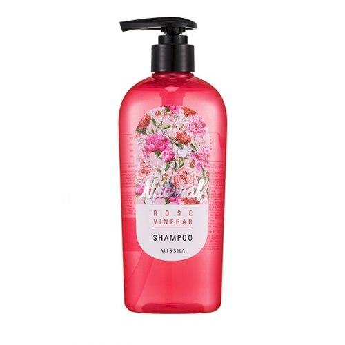Шампунь для волос с экстрактом розы MISSHA Natural Rose Vinegar Shampoo