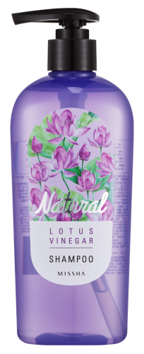 Шампунь для волос с экстрактом лотоса MISSHA Natural Lotus Vinegar Shampoo