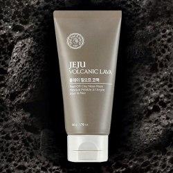 Маска-пленка для носа с вулканическим пеплом THE FACE SHOP JEJU VOLCANIC LAVA PEEL-OFF CLAY NOSE MASK 50G