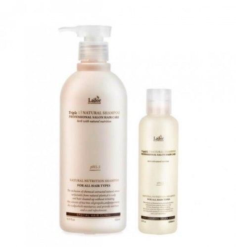 Шампунь с натуральными ингредиентами LA'DOR Triplex Natural Shampoo