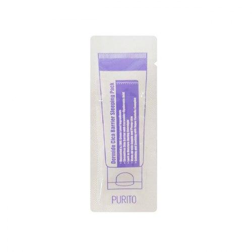 Маска ночная для лица PURITO Dermide Cica Barrier Sleeping Pack (sample)