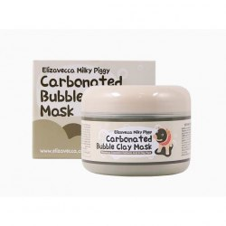 Маска для лица глиняно-пузырьковая ELIZAVECCA Carbonated Bubble Clay Mask 100гр