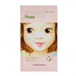 Патч от черных точек на носу ETUDE HOUSE Greentea Nose pack 0.65ml