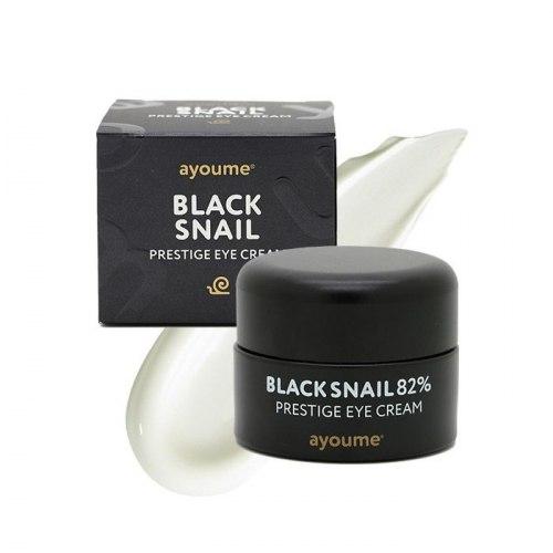 Крем для глаз с муцином черной улитки AYOUME Black Snail Prestige Eye Cream 30 мл