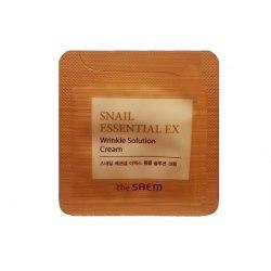 Крем антивозрастной THE SAEM Snail Essential EX Wrinkle Solution Cream 1мл