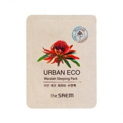 Маска для лица ночная с экстрактом телопеи THE SAEM Urban Eco Waratah Sleeping pack 1мл