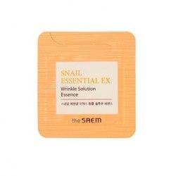 Эссенция антивозрастная THE SAEM Snail Essential EX Wrinkle Solution Essence 1мл