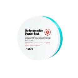 Пудра компактная с мадекассоидом A'PIEU Madecassoside Powder Pact 6гр