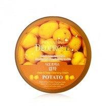 Крем для лица очищающий с экстрактом картофеля DEOPROCE CLEAN & DEEP POTATO CLEANSING CREAM 300g