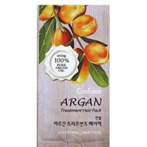 Маска для волос с маслом арганы пробник WELCOS Confume Argan Treatment Hair Pack Pouch