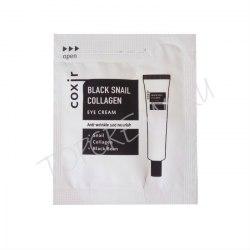 Крем для лица COXIR Black Snail Collagen Cream sample 2ml