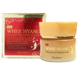 Крем для век антивозрастной DEOPROCE WHEE HYANG WHITENING & ANTI-WRINKLE EYE CREAM 30g